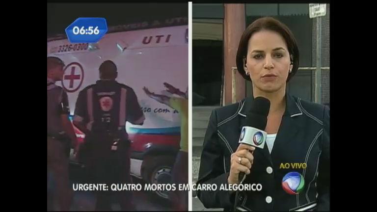 Tragédia em Santos (SP): três pessoas continuam internadas ...