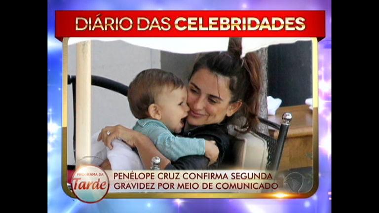 Penélope Cruz confirma gravidez - Entretenimento - R7 Programa ...