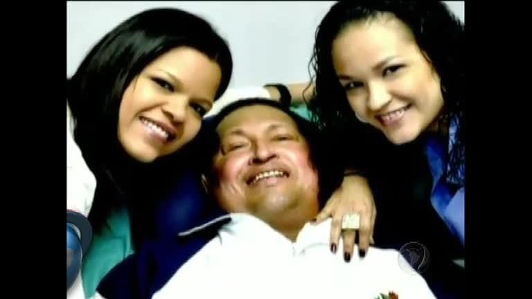 Venezuela divulga primeiras imagens de Hugo Chávez após cirurgia