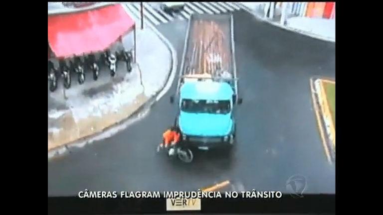 Câmeras mostram flagrantes de imprudência no trânsito de Campos ...