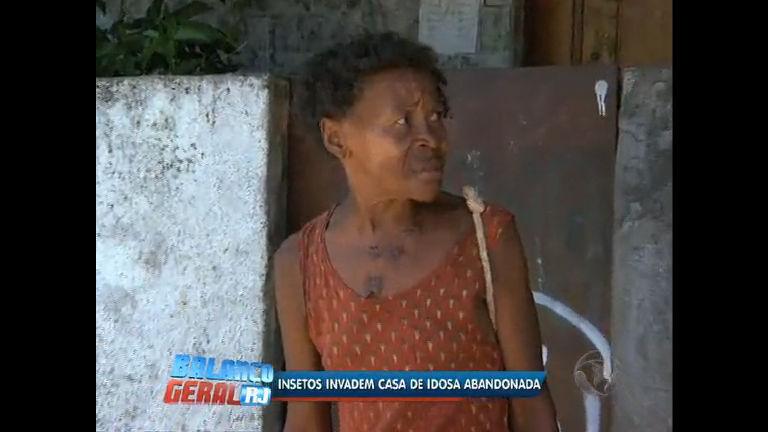 Idosa vive em meio a sujeira e insetos no Rio - Rio de Janeiro - R7 ...