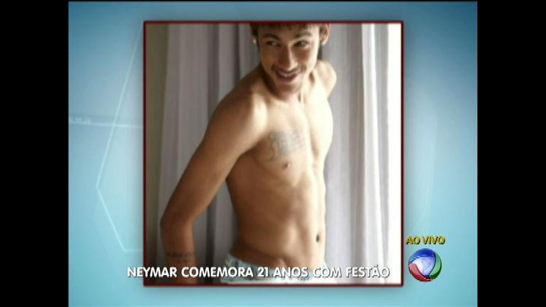 Neymar comemora 21 anos com superfesta em São Paulo - Notícias ...