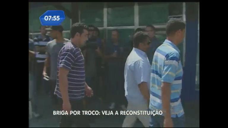 Morte em churrascaria: polícia faz reconstituição do crime - Notícias ...