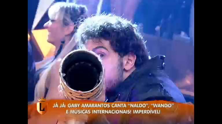 """Mionzinho mostra a potência da """"bazuca"""" de Gaby Amarantos ..."""