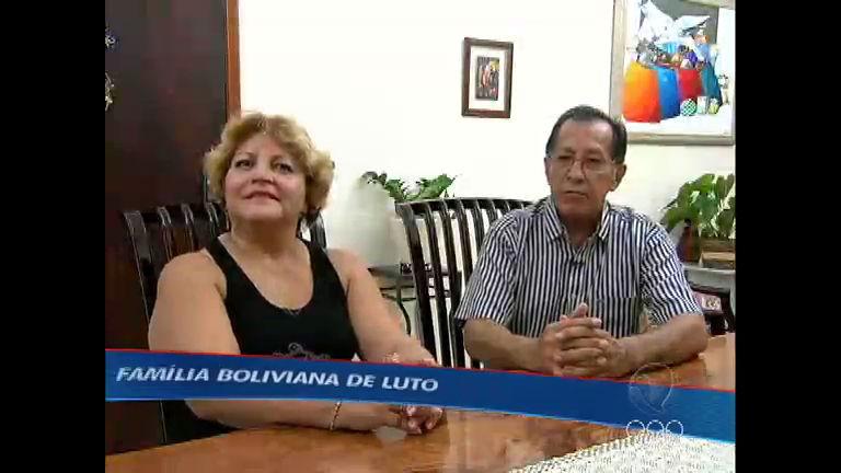 Família boliviana lamenta morte de torcedor - Rede Record