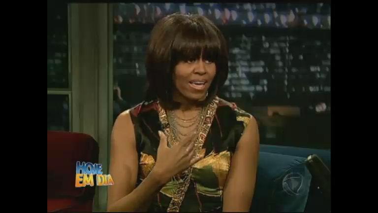 Michelle Obama arrasa em premiação do Oscar 2013 - Rede Record
