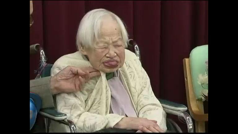 Guinness reconhece japonesa como a mulher mais velha do mundo ...