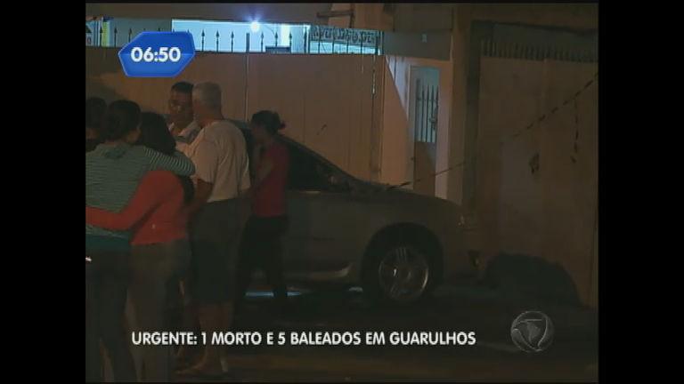 Violência em SP: seis pessoas são baleadas em Guarulhos ...