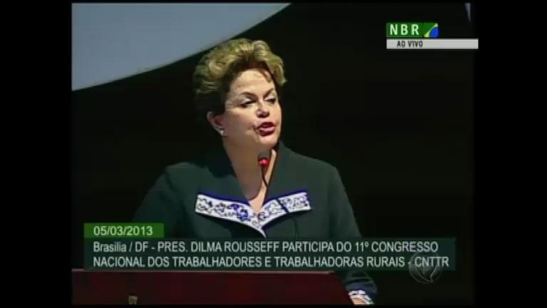 Dilma Rousseff faz pronunciamento sobre a morte de Hugo Chávez ...