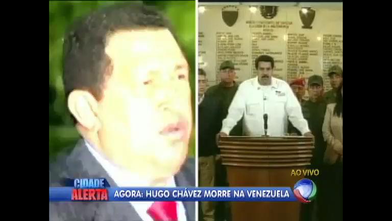 Presidente da Venezuela, Hugo Chávez, morre aos 58 anos ...