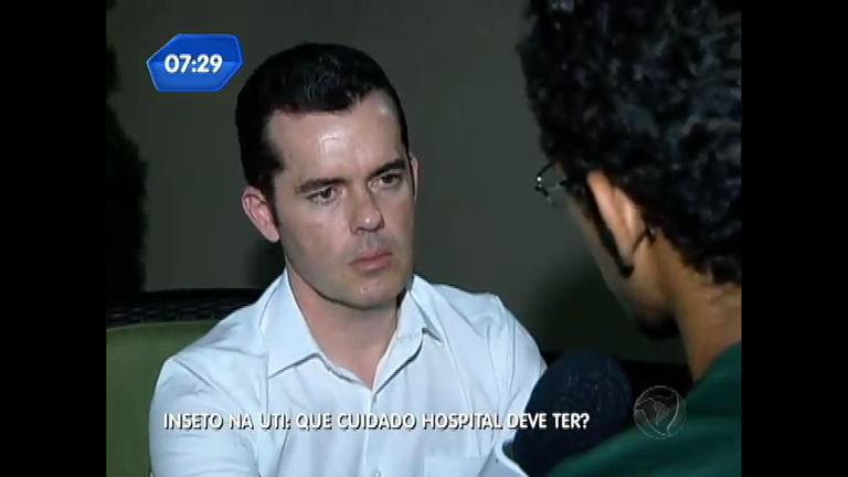 Pais denunciam presença de inseto dentro de UTI de hospital ...