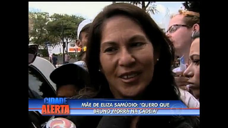 Mãe de Eliza Samúdio fala da relação de Bruno com o filho Bruninho
