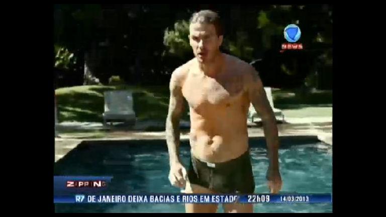 David Beckham usa dublê em comercial de roupa íntima; veja no ...