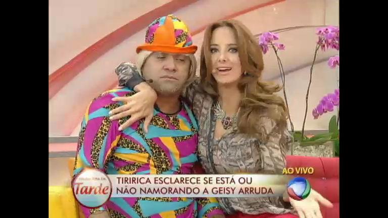 Relacionamento sério? Tiririca esclarece affair com Geisy Arruda ...