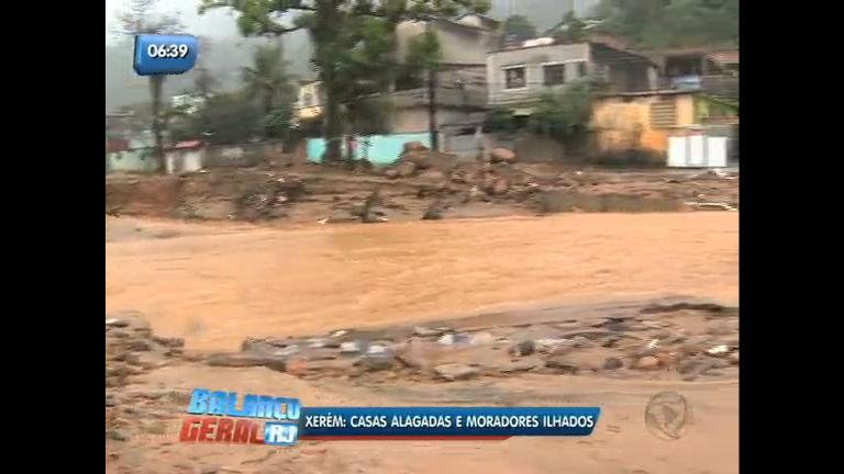 Chuva deixa moradores ilhados em Xerém (RJ) - Rio de Janeiro ...