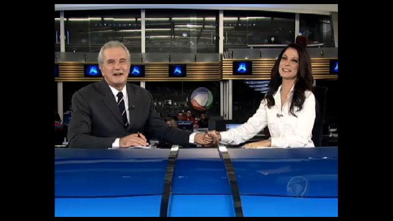 Ana Paula Padrão se despede do Jornal da Record e da emissora ...