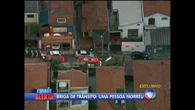 Briga de trânsito termina em morte em São PauloCidade Alerta | R7 ...