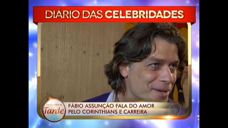Fábio Assunção declara amor ao Timão e fala sobre a experiência ...
