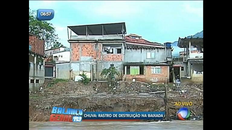 Veja imagens da destruição causada pela chuva na baixada (RJ ...