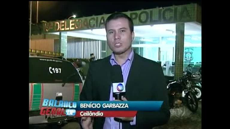 Trio é preso em Ceilândia com carro roubado - Rede Record