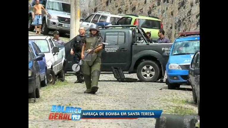 Três dinamites são encontradas em Santa Teresa ( RJ) - Rio de ...