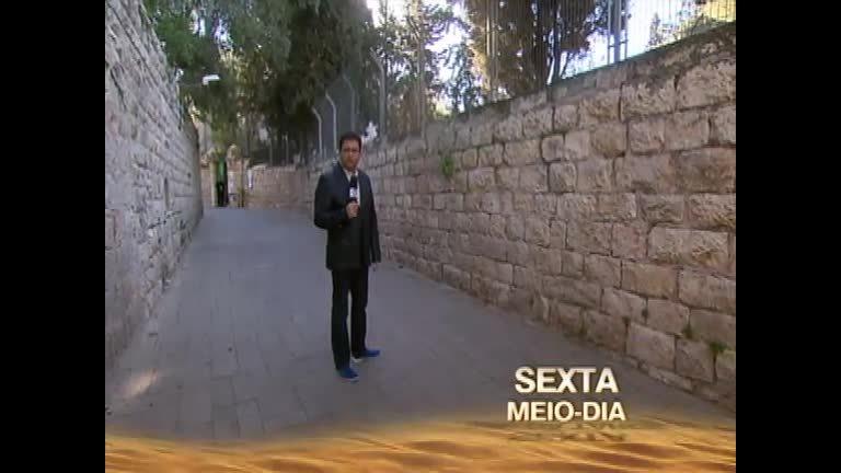 Semana Santa: Geraldo Luís visita Jerusalém - Rede Record