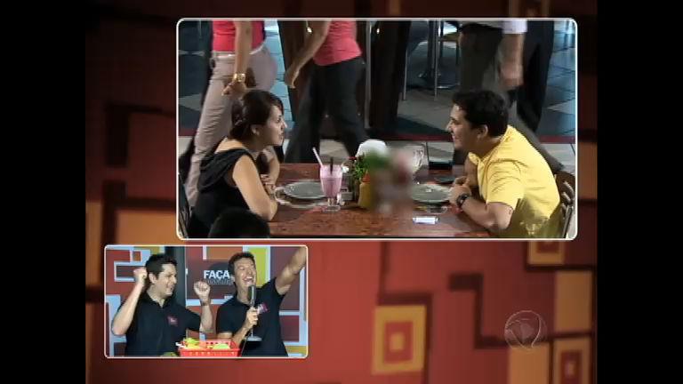 Lucas pede Gabriela em namoro durante o Faça & Disfarça - Rede ...