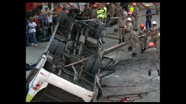 Delegado confirma que briga provocou acidente de ônibus no Rio ...