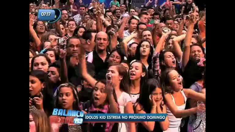 Ídolos Kids chega com novidades neste domingo (14) - Rio de ...