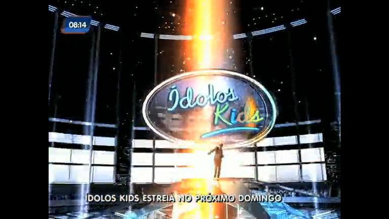 Ídolos Kids estreia neste domingo (14) - Rio de Janeiro - R7 RJ no Ar