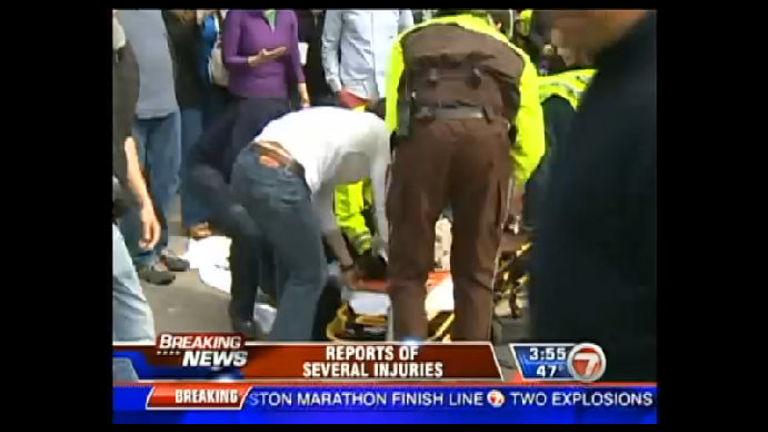 Explosões matam duas pessoas e ferem 110 durante a Maratona de ...