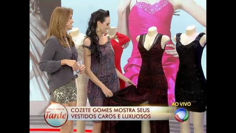 Puro luxo: vestidos da coleção de Cozete Gomes custam mais que ...