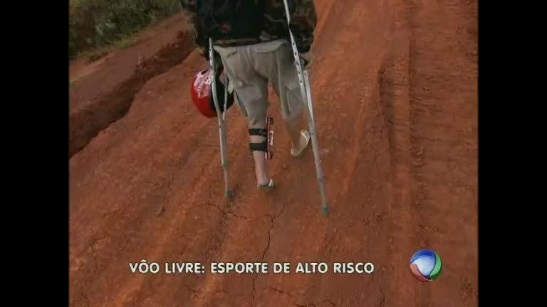 Voo livre: um esporte radical e muito perigoso - Minas Gerais - R7 ...