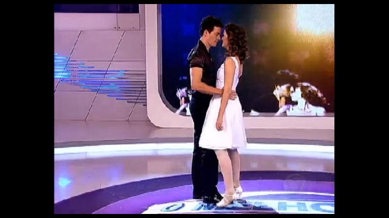 Dança, Gatinho! Rodrigo Faro e Chris Flores reproduzem cena de ...