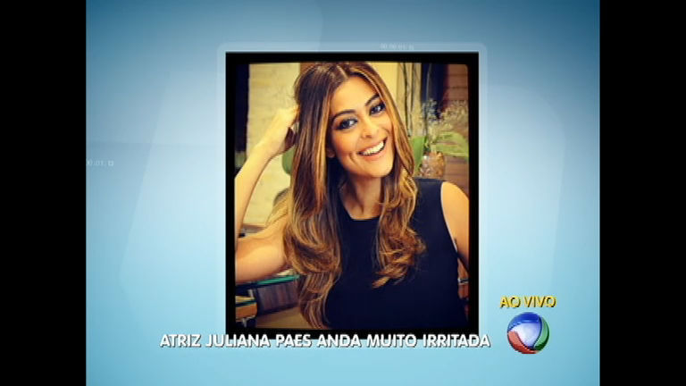 Famosos: final da gravidez deixa Juliana Paes irritada - Notícias ...