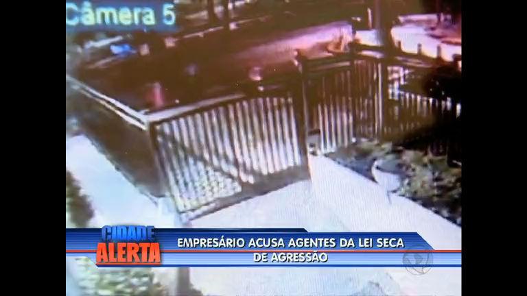 Flagrante: vídeo mostra agressão de agentes da Lei Seca no Leblon