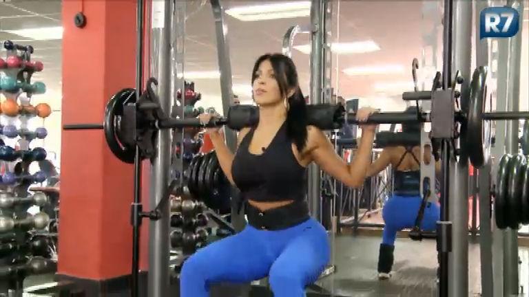 Gaby Potência mostra treino para manter corpão digno de uma ...