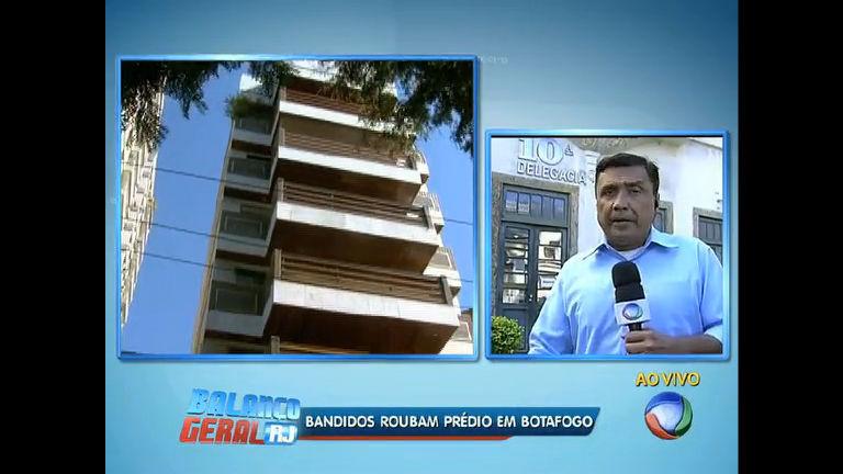 Bandidos roubam prédio em Botafogo ( RJ) - Rio de Janeiro - R7 ...