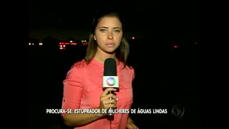 Polícia procura estuprador em Águas Lindas - Rede Record