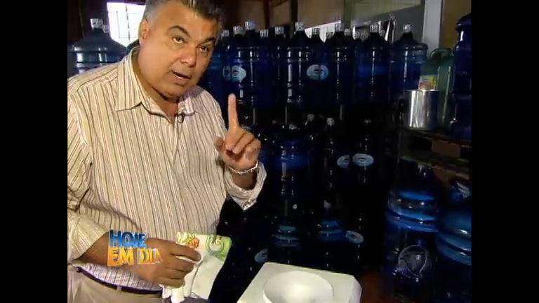 Cuidado: galões de água podem apresentar contaminação ...