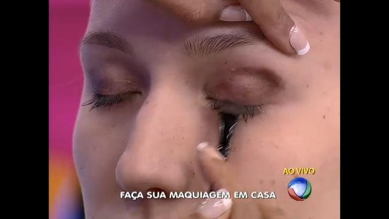 Ingredientes de cozinha viram maquiagem no Tá na Moda - Rede ...