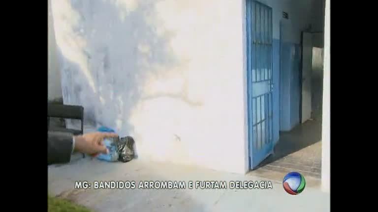 Bandidos arrombam e furtam delegacia em Divinópolis - Minas ...