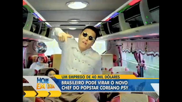 Chef de cozinha brasileiro pode trabalhar com o cantor PSY ...