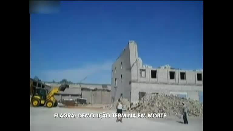 Demolição acaba em morte na Rússia - Notícias - R7 Balanço Geral
