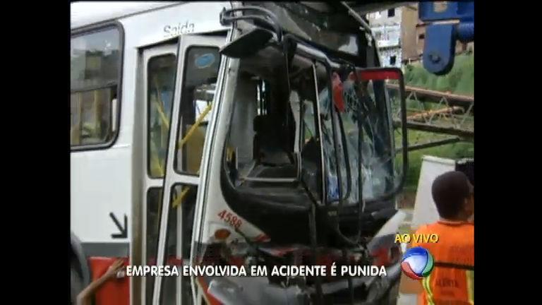 Empresa de ônibus envolvida em acidente é punida pela Prefeitura ...