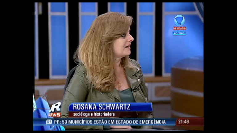Historiadora compara protestos recentes com outros movimentos sociais -  Record News Play - R7 Jornal da Record News 43ac1befd0