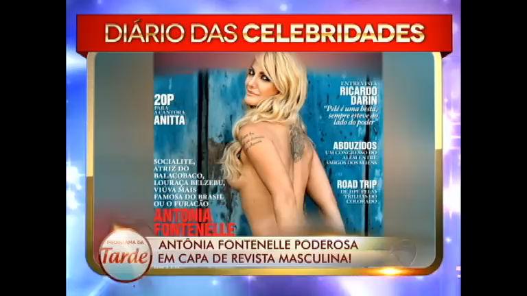 Antônia Fontenelle posa para revista masculina; veja no Diário das ...