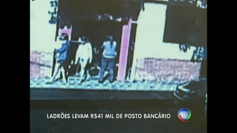 Funcionária tem R$ 40 mil roubados na porta de posto bancário ...