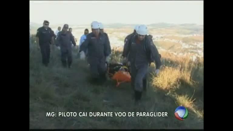 Homem cai de uma altura de 6 m durante voo de paraglider, no sul ...