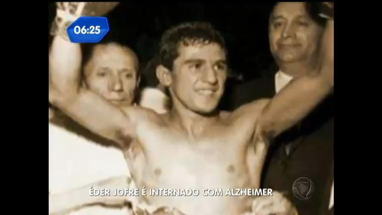 Ex- pugilista, Éder Jofre é internado em SP - Notícias - R7 Balanço ...